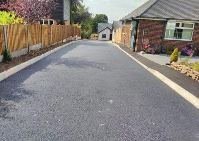 large tarmac driveway installation, stafford, cannock, staffordshire, stoke, wolverhampton